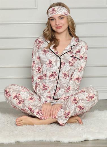 Akbeniz Pijama Takım Gri